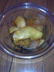 りんごのコンポート~きび砂糖での写真