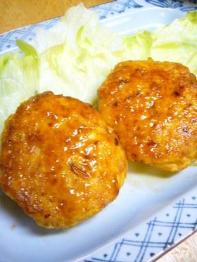 テリテリ♪照り焼き豆腐ハンバーグ
