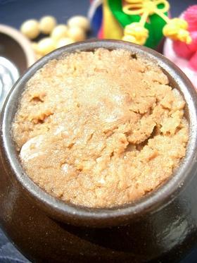 本格テンジャン(味噌)の作り方in韓国