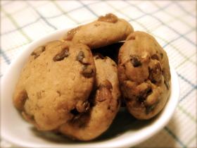 キャラメルアーモンドチョコチップクッキー