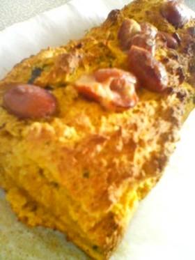 ノンオイル・ノンエッグかぼちゃケーキ