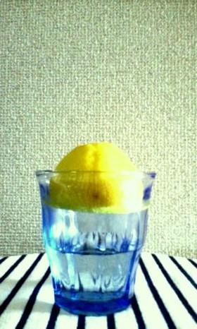 レモンの一時保存