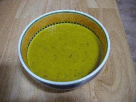 まるごとかぼちゃのスープ