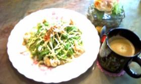 簡単☆美味しいサラダうどん☆