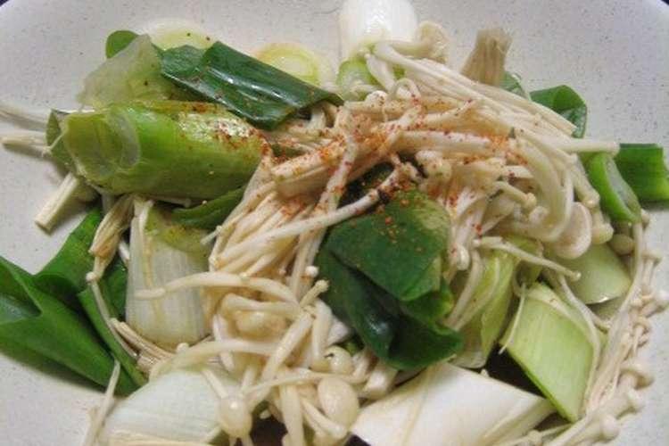 何 分 レンジ えのき レンジで6分簡単レシピ。鶏肉とえのき茸のアヒージョ
