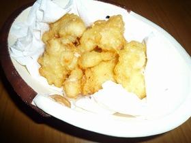 海老と長芋のふんわりチーズ揚げ