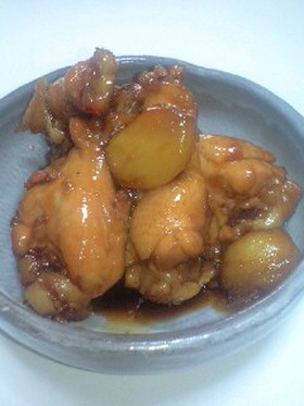我が家の鶏手羽元の甘辛照り煮