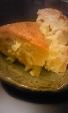 炊飯器deおからりんごさつまケーキ