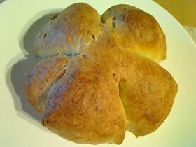 手軽に全粒粉くるみパン