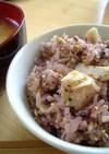 ゴマたっぷり☆簡単☆塩サバゆかりご飯