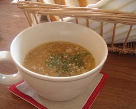 しょうゆが隠し味☆オニオンスープ