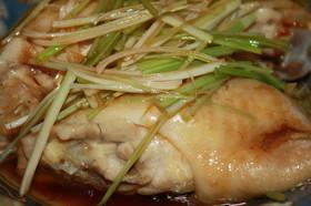 鶏肉のジュッジュッジュ~ねぎソース
