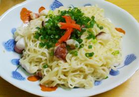 博多焼きラーメン★インスタント麺で簡単!