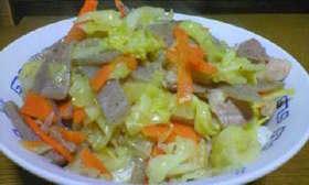 豚肉とこんにゃくの味噌だれ煮