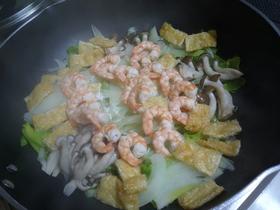 海老と旬野菜の蒸焼きアンチョビマヨソース