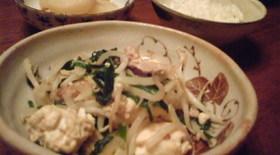 楽!安!美味!ヘルシーな豆腐チャンプルー