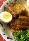 豚バラの味噌角煮☆圧力鍋で短時間