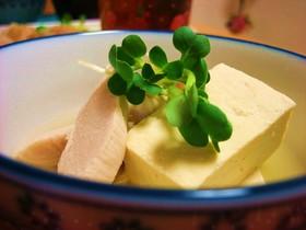 豆腐とささ身のスープ煮
