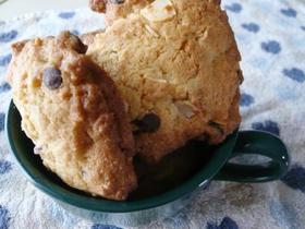 サックサクなチョコチャンククッキー