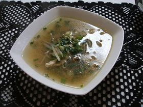 ごま油香る中華スープ・。☆