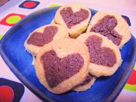 ラブリー♪簡単ハートクッキー
