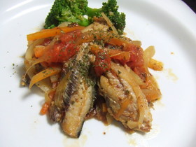 イタリアン☆ 鰯のトマトオイル煮