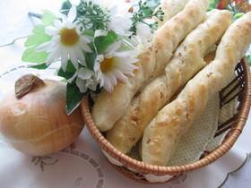 玉ねぎたっぷりスティックパン