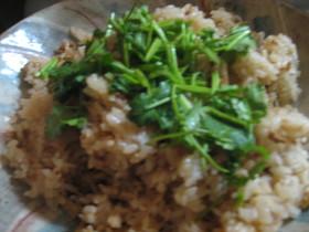 アジアン風 筍と豚肉の炊き込みご飯