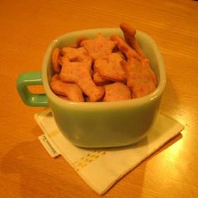 いちごクッキー☆卵・乳製品は使いません。