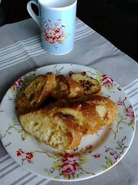シンプルフレンチトースト