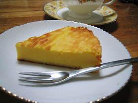 ふんわりベイクドチーズケーキ♪