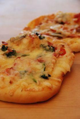 ふんわりタイプのピザパン