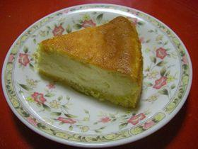 高級感有り!ズッシリチーズケーキ