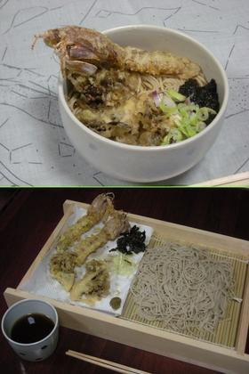 海老天蕎麦のシャコバージョン