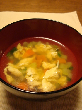 シンプル中華風スープ