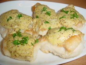 オトナの味!鶏のつぶつぶマスタード焼き♪