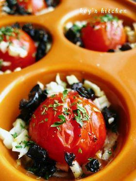 ガーリックトマト。