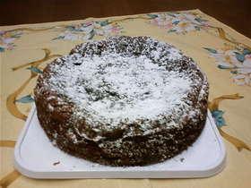板チョコで作るチョコレートケーキ