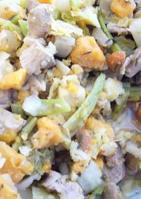 犬ご飯:根菜と七面鳥のローズマリー煮