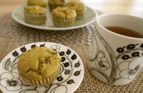 緑茶小豆マフィン