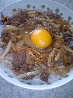 ■すき煮丼