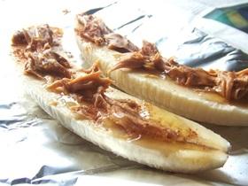 ほんのりシナモン☆焼きバナナ