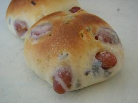 桜の季節に~桜と豆のパン~