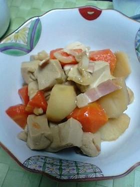 節約レシピ☆高野豆腐で☆肉じゃが風