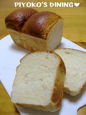 パウンド型で❀爽やか手捏ねカルピス食パン