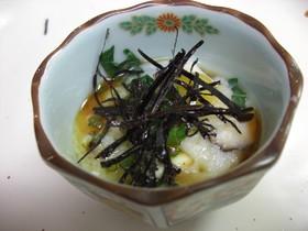 レンジで簡単蒸し豆腐