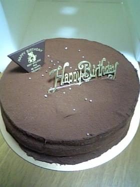 チョコレートケーキ シンプル