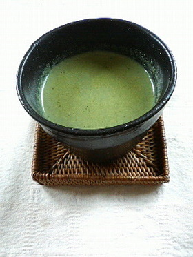 ☆ほうれん草と豆乳deカレー味のスープ☆