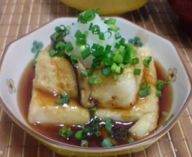 超手抜き・・・だけど美味しい揚げ出し豆腐