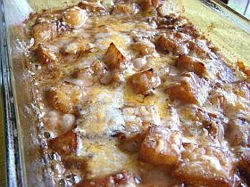 コロコロポテトのクリーミーバルサミコ焼き